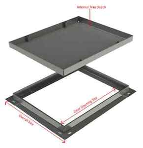 750 x 750 x 46mm Water & Gas Tight Recessed Manhole Cover - AQK7575
