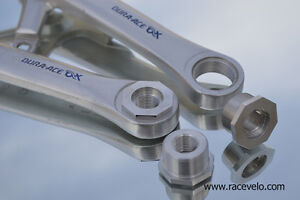 New cranks pedal adapters for Shimano Dura Ace AX EX 600AX Dyna Drive Deore