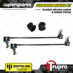 Front Sway Bar Links + 21mm Sway Bar Mount Bushes for Suzuki Swift EZ 4CYL