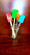 Set of 4 Silicon Oil brush, spatula, Scraper, Cake mixing, Cooking