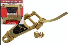 Gold Bigsby B7G Tremolo & Vibramate V7335g Fits Gibson es330/335 & USA Epiphone