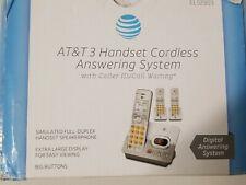 ATT DECT 6.0 Expandable Cordless Phones w/Digital Answering Machine #EL52303 NEW