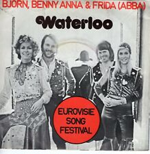 7inch ABBA waterloo HOLLAND EX 1974 (S1972)