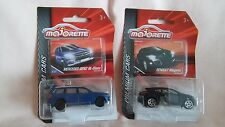 MAJORETTE NEW OUT PREMIUM CARS A MET BLUE MERCEDES-BENZ GL-CLASS,RENAULT MEGANE.
