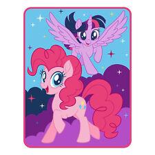 Hasbro My Little Pony Plush Throw New 46 x 60 Twinkle Magic