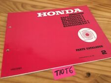 Générateur Honda parts list EM EG 4500 5000 XK1 SXK1 catalogue pièce détachée