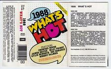 1988 WHAT'S HOT - VARIOUS ARTISTS  *RARE CASSETTE TAPE*