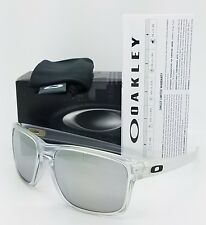 90217979823 NEW Oakley Sliver sunglasses Matte Clear Chrome Iridium 9262-23 AUTHENTIC  silver
