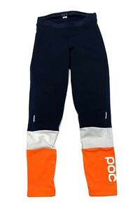 POC Thermal Cycling Tights Mens Size L Softshell Multicolor Black White Orange