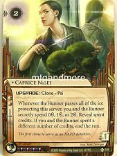 Android Netrunner LCG - 1x #114 Caprice Nisei - Double Time