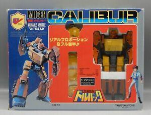 Takatoku MUGEN CALIBUR toy MIB Transformers ROADBUSTER Dorvack toy 1/72 scale !!