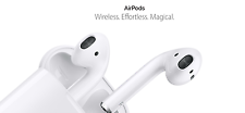 Apple AirPods Bluetooth Wireless Earphones
