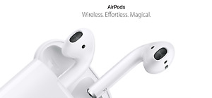 Apple AirPods 2nd Gen Bluetooth Earphones AirPod With Charging Case [MV7N2ZM/A]
