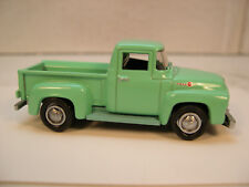 TURQUOISE 1956 FORD F100 GREENLIGHT 1:64 SCALE DIECAST METAL MODEL TRUCK