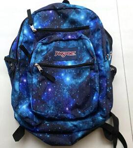 JanSport Superbreak Backpack - Galaxy. Pre Owned
