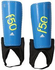 Adidas Perform F50 Soccer Youth Shin Guard, Solar Blue Semi Solar Yellow, Large