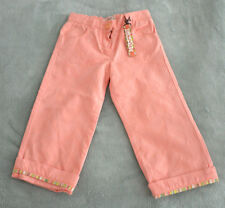 NWT Authentic Missoni Baby Girl's Coral Pants Bottoms Jeans (Size 2 Years)