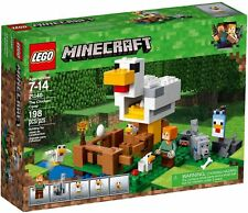 LEGO PER COLLEZIONISTI MINECRAFT  21140  IL POLLAIO  NUOVO