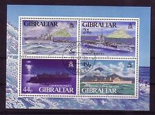 Gibraltar Michelnummer Block 22  gestempelt (intern: Doku: 35 )