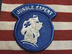 US Army Jungle Expert Jungle Warfare Color Patch Blue Cross M/E Vietnam Era