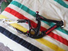 """NORCO Team DH 2010 MTN Full Suspension 17"""" Med Bike Frame Black Red White Used"""