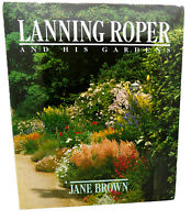 Jane Brown LANNING ROPER AND HIS GARDENS  1st Edition 1st Printing