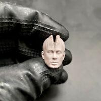 "Blank Hot 1//12 Scale Judge Dredd Stallone Head Sculpt Unpainted Fit 6/"" ML Figure"