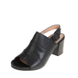 RRP €155 MARCO FERRETTI Leather Slingback Sandals Size 36 UK 3 US 6 HANDMADE