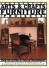 Authentic Arts & Crafts Furniture Projects ~From Editors of Popular Woodworking