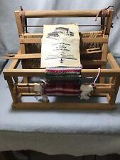 Vintage Hardwood Tabletop Weaving Loom