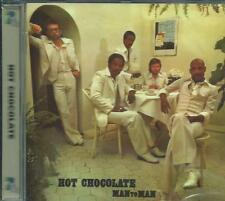 HOT CHOCOLATE - MAN TO MAN 1976 UK POP SOUL BAND REMASTERED SEALED CD +2xtrks