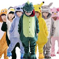 Kids Pajamas Pikachu Kigurumi Unisex Cosplay Animal Costume Sleepwear Halloween