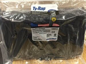 "Thomas & Betts Ty-Rap TY25MX 7.3"" 50lb 1000/Pack"