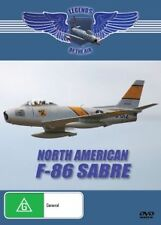 F86 SABRE - LEGENDS OF THE AIR - NEW DVD FREE LOCAL POST