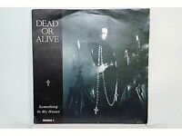 """DEAD OR ALIVE - SOMETHING IN MY HOUSE - SINGLE 7"""" - UK - 1986 (MB/VG - MB+/VG+)"""