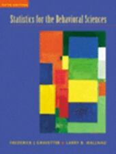 Statistics for the Behavioral Sciences by Larry B. Wallnau and Frederick J. Gra…