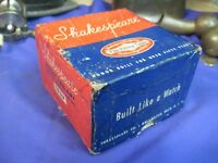 SHAKESPEARE SILENT TRU ART AUTOMATIC FLY ROD REEL No 1837 EMPTY BOX  VINTAGE