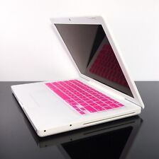 PINK Silicone Keyboard Skin Cover for OLD Macbook 13""