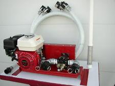 New Honda Engine Gas Powered Bulk Oilwaste Oil Pump25 Gpmwith Complete Hose Kit