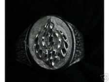 LOOK Sterling Silver RING Sikh Khanda Sword THICK Jewelry