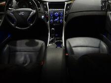LED Cup Holder Lights Door+Console - Blue - Fits 2011-2014 Hyundai Sonata