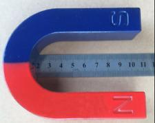 Traditional Large U Shaped Horseshoe Magnet Kids Toy Experiment Teaching AIDS