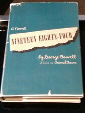 Nineteen Eighty-Four, George Orwell, First Canadian Edition, 1949, with d/w