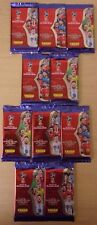 Fifa World Cup Russia 2018 Panini Adrenalyn XL ~ 10 x Sealed Packs = 90 Cards