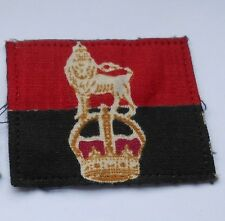 war office  printed    cloth formation sign military unit patch  [ L]