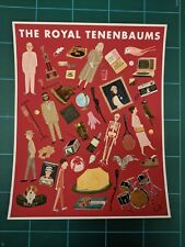 Max Dalton The Royal Tenenbaums Art Print Signed Movie Poster Wes Anderson