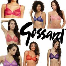 Gossard 6271 Glossies Underwired Sheer Plunge T-Shirt Bra