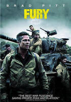 Fury (DVD, 2015) BRAD PITT DISC & ARTWORK ONLY NO CASE UNUSED CONDITION SHIPS FA