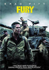 Fury (DVD, 2015, Includes Digital Copy UltraViolet) New