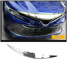 ABS Chrome Front Bumper Engine Hoods Frame k Fit For Toyota Camry 18-19 L LE XLE
